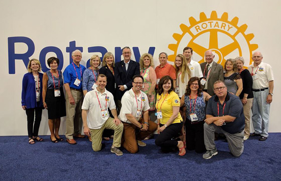 2017 Rotary International Convention in Atlanta, Georgia